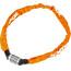Trelock BC 115 Code lucchetto per bici 60 cm arancione